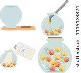 how to make illustrations set...   Shutterstock .eps vector #1119138824