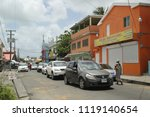 st. john's  antigua and barbuda ... | Shutterstock . vector #1119140654