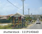 st. john's  antigua and barbuda ... | Shutterstock . vector #1119140660