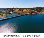 aerial drone view of sacramento ... | Shutterstock . vector #1119141434