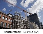 construction of the city  the... | Shutterstock . vector #111915464
