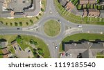 aerial view of british suburbs | Shutterstock . vector #1119185540