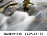 water flowing in the stream | Shutterstock . vector #1119186458