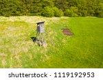 aerial view of hunter's watch... | Shutterstock . vector #1119192953