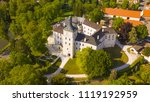 aerial view of castle in... | Shutterstock . vector #1119192959