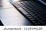 close up of keyboard of a... | Shutterstock . vector #1119194120