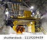 Chute Galleries Underground Mine
