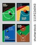 graphic design sport concept.... | Shutterstock .eps vector #1119226043