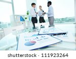 image of business documents... | Shutterstock . vector #111923264