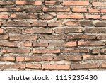 old bricks wall texture | Shutterstock . vector #1119235430