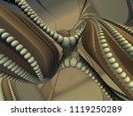 Futuristic Digital 3d Art...