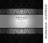 vintage background  antique ... | Shutterstock .eps vector #111930143