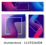 set of colorful backgrounds... | Shutterstock .eps vector #1119326408