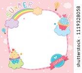 illustration vector of summer...   Shutterstock .eps vector #1119328058