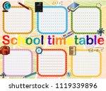 background frame design of... | Shutterstock .eps vector #1119339896