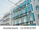 traditional european... | Shutterstock . vector #1119351959