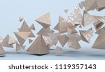 abstract 3d rendering of... | Shutterstock . vector #1119357143
