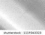black dot lines pattern.... | Shutterstock .eps vector #1119363323