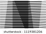 black and white stripe line... | Shutterstock .eps vector #1119381206