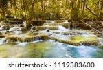 beauty of tropical stream... | Shutterstock . vector #1119383600