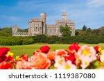 lews castle in stornoway ... | Shutterstock . vector #1119387080