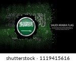 background halftone gradient... | Shutterstock .eps vector #1119415616