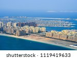 beautiful panoramic view on the ... | Shutterstock . vector #1119419633