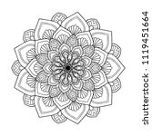 mandalas for coloring  book....   Shutterstock .eps vector #1119451664
