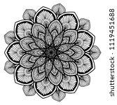 mandalas for coloring  book....   Shutterstock .eps vector #1119451688