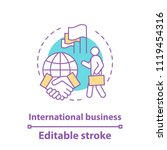 international business concept... | Shutterstock .eps vector #1119454316