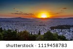 Amazing Sunset In Athens  View...