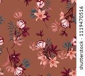 beautiful  seamless pattern... | Shutterstock .eps vector #1119470516