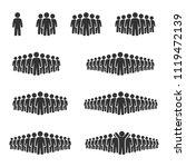 vector image set of people...   Shutterstock .eps vector #1119472139