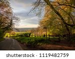 cotswolds countryside with... | Shutterstock . vector #1119482759