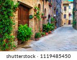 majestic traditional decorated... | Shutterstock . vector #1119485450