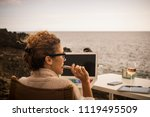 nice lifestyla for beautiful... | Shutterstock . vector #1119495509