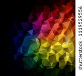 colorful polygonal mosaic... | Shutterstock .eps vector #1119529556