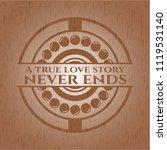 a true love story never ends... | Shutterstock .eps vector #1119531140