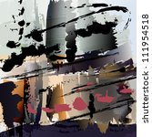 Abstract Painting Background...