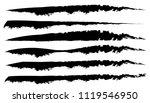 brushstrokes  paint traces.... | Shutterstock .eps vector #1119546950