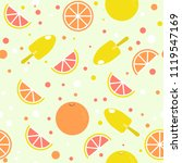 vector seamless pattern with... | Shutterstock .eps vector #1119547169