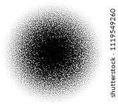 random circles  pointillist ... | Shutterstock .eps vector #1119549260