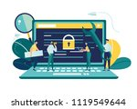 vector colorful illustration ...   Shutterstock .eps vector #1119549644