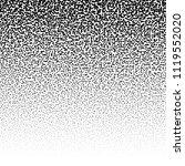 random circles  pointillist ... | Shutterstock .eps vector #1119552020