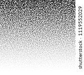random circles  pointillist ... | Shutterstock .eps vector #1119552029