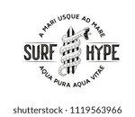 surf hype  black on white... | Shutterstock .eps vector #1119563966