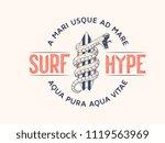 surf hype it's a vector... | Shutterstock .eps vector #1119563969