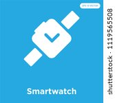 smartwatch vector icon isolated ... | Shutterstock .eps vector #1119565508