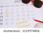 Summer Calendar Schedule With...