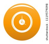 clock deadline icon. simple... | Shutterstock .eps vector #1119579098